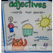 adjectives for thanksgiving for the love of first grade adjectives you ask