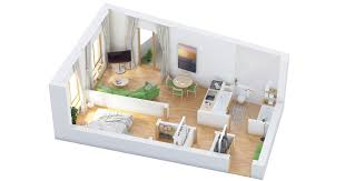 1 Bedroom Cottage Floor Plans 40 More 1 Bedroom Home Floor Plans