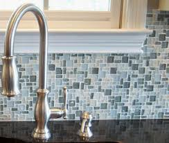 Glass Tile Backsplash Install by Creative Recycled Glass Tile Southbaynorton Interior Home