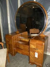 Antique Vanities For Bedrooms Antique Vanity Dresser With Mirror And Stool Drawers