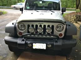 jeep bumper rugged ridge wrangler front bumper mounted light bar textured