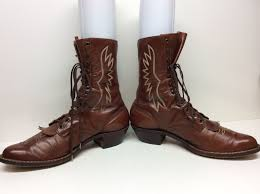 s boots size 11 k mens white s work leather brown boots size 11 e in clothing