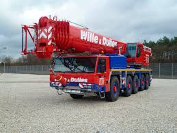 truck mounted crane boom all terrain lifting atf 130g 5