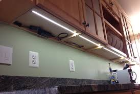 how to install light under kitchen cabinets excellent how to wire led lights under kitchen cabinets homey