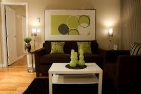 Darkbrownandlimegreenlivingroomwallideas Brown Living - Green living room ideas decorating