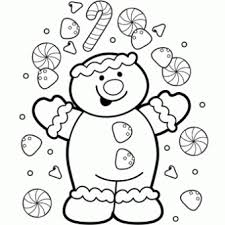 gingerbread coloring free christmas recipes coloring pages