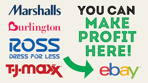 make money by selling items from ross tj maxx burlington