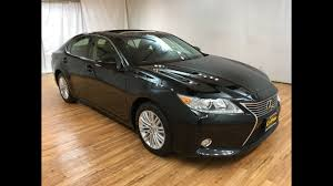 is lexus es 350 rear wheel drive 2015 lexus es 350 navigation moonroof rear cam carvision youtube
