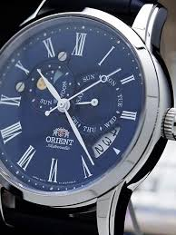 orient automatic sun and moon with sapphire et0t004d