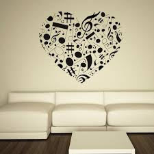 Heart Wall Stickers For Bedrooms 19 Best Music Wall Ideas Images On Pinterest Wall Ideas Music