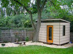 Backyard Office Kit by Options Modern Shed Backyard Re Do Pinterest Modern