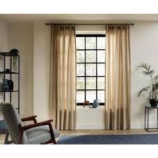 wood curtain rods u0026 hardware window treatments the home depot