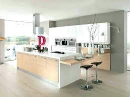 cuisine blanc et bois cuisine bois et blanc laque blanche charming 7 laquey mo la