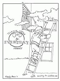 fire safety coloring pages kids coloring