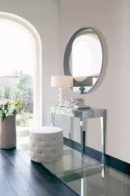 Glass Vanity Table With Mirror Contemporary Dressing Table Leather Glass Beauty By Opera