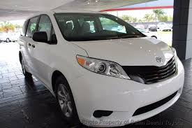 toyota l 2017 used toyota l fwd 7 passenger at palm toyota