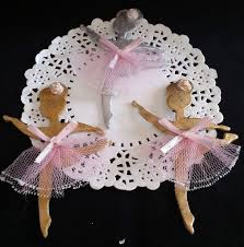 Ballerina Decorations Ballerina Cupcake Toppers In Gold Or Silver For Baby Shower Or