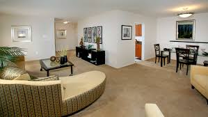Carpeted Dining Room Skyline Towers Rentals Falls Church Va Apartments