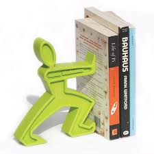 Book End James The Bookend Green Quirky Book End