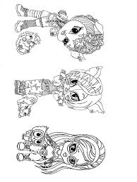 Baby Monster Coloring Pages