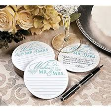 wedding wishes and advice wedding wishes advice coasters for wedding receptions