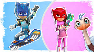 pj masks as miles from tomorrowland fun coloring book videos for