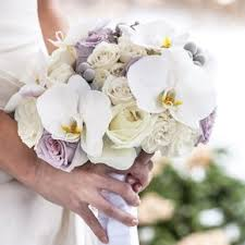 orchid bouquet purple orchid wedding bouquets