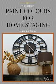 the best paint colours for home staging or selling homes for