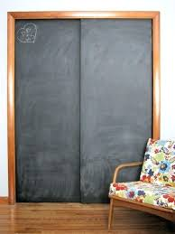 Painting Sliding Closet Doors Sliding Chalkboard This Is A Great Idea For A Room Or Rec