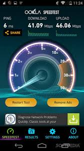 android speed test speedtest net for android