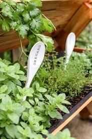 garden markers diy wooden spoon garden markers bless er house
