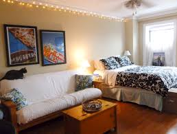 stylish ideas for decorating a studio apartment on a budget with