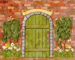 Secret Garden Wall by A Year In The Secret Garden Coauthor Marilyn Scott Waters Interview