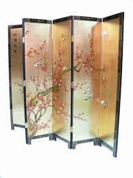 Ebay Room Divider - gold leaf plum blossom room divider screen oriental chinese
