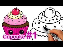 photos how to draw a cute birthday cake drawing art gallery