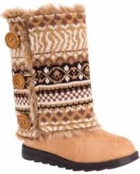 sweater boots spectacular deal on s muk luks reversible andrea sweater