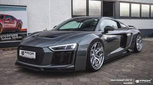 audi r8 blacked out audi r8 muscles up with aggressive wide body kit