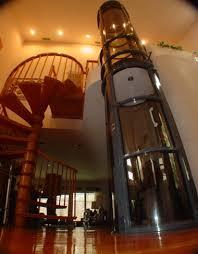 houses with elevators perma vacuum elevator uses zero energy going and going
