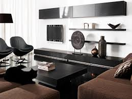 black and white home decor living room living room stunning black
