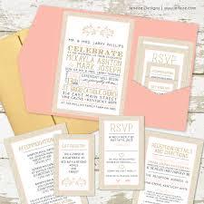 Pocket Invites Download What To Put On Wedding Invitations Wedding Corners