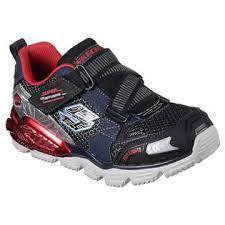 skechers red light up shoes skechers boys lights orbiters red black blue light up athletic
