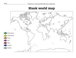 oceans and continents worksheet jpg help kids learn about