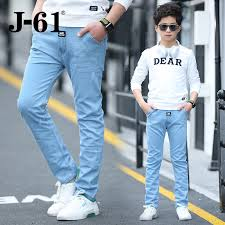 mens light colored jeans boys light colored jeans 2018 spring new child summer thin section