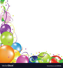 party balloons colorful party balloons royalty free vector image