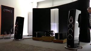 high end home theater speakers high end 2016 munich tidal audio akira youtube