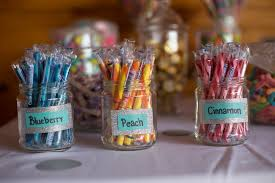 Diy Candy Buffet by Candy Buffet My Big Colorful Wedding
