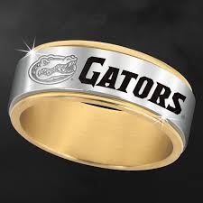 wedding band florida florida gators spinner ring the danbury mint s wedding