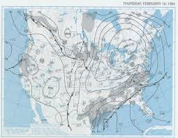 Surface Weather Map The Big 1994 Ice Storm The Alabama Weather Blog