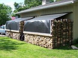 Backyard Wood Sheds by Best 25 Wood Shed Ideas On Pinterest Wood Store Shed Storage
