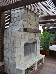 Outdoor Fireplace Surround by 121 Best Outdoor Fireplaces Images On Pinterest Outdoor